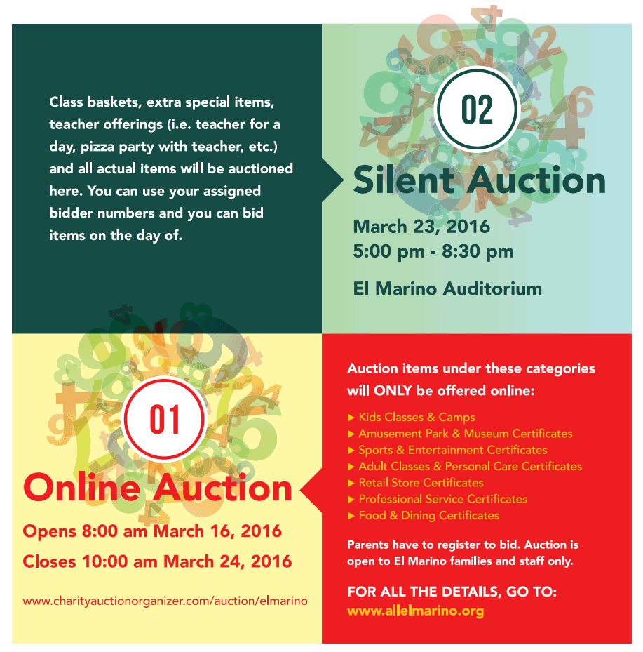 Silent Auction Flyer Image
